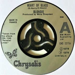 "Blondie - Heart Of Glass (7"") (G+/VG)"